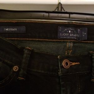 Lucky Brand Jeans - Lucky Brand dark wash sweet boot cut jeans